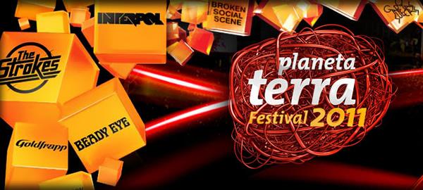 Planeta Terra Festival 2011 reuniu nomes como Strokes e Beady Eye no Playcenter - Créditos: Divulgação