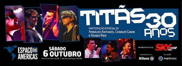 Em show especial de 30 anos de banda, Titãs se reunião com formação clássica - Créditos: Divulgação