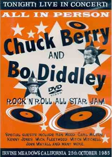 Chuck Berry & Bo Diddley - Rock and Roll All Star Jam
