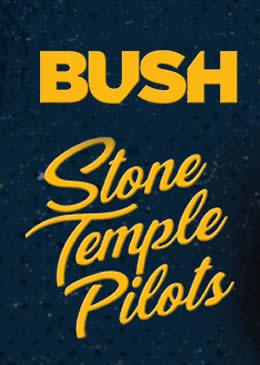 Bush e Stone Temple Pilots no Brasil