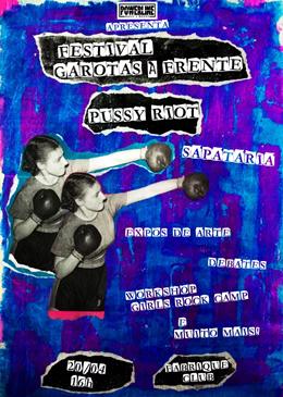 Festival Garotas à Frente | Pussy Riot